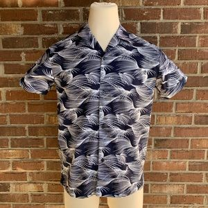 Reaction Kenneth Cole Short Sleeve Button Down